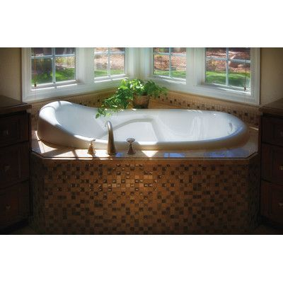 "Hydro Systems Designer Kimberly 72"" x 40"" Whirlpool Bathtub Finish: Biscuit"