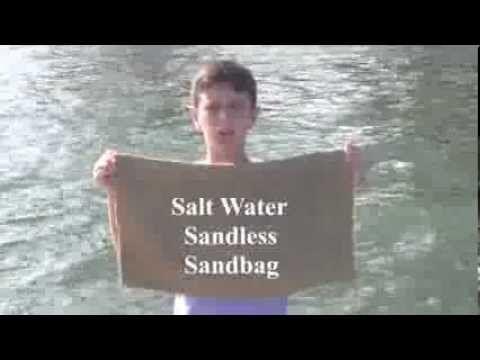 12-Year-Old Peyton Robertson Develops Ingenious Polymer Sandbag for Flood Defense