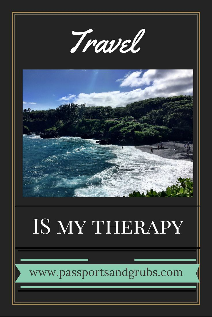 Who needs a therapist when you can travel?