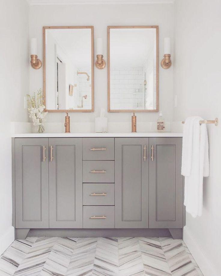 Rose Gold Details In 2020 Gold Bathroom Decor Gold Bathroom Rose Gold Decor