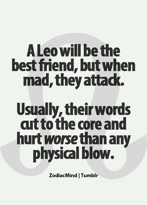 Similar. interesting. how to hurt a leo man you the