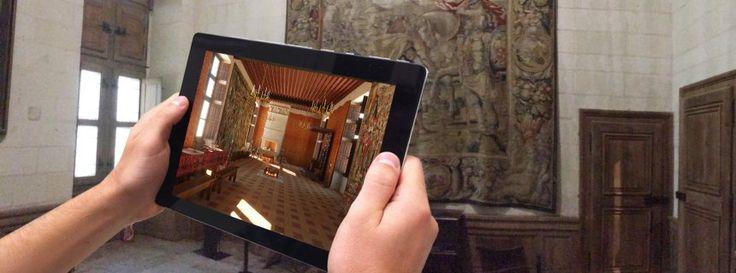 Schloss Chambord: Mit dem Tablet in die Vergangenheit