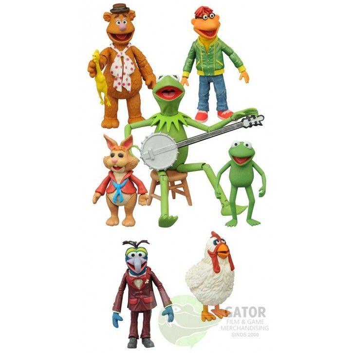 The Muppets Select Actiefiguren 15 cm 2-Packs Series 1 Assortment (3)