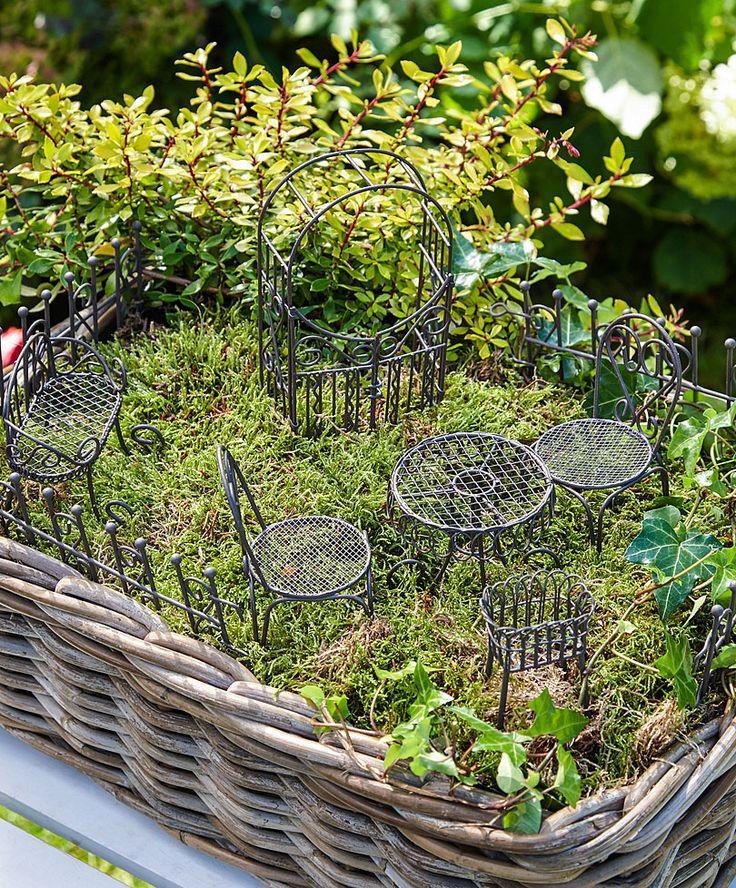 Mini-trädgård startpaket med 10 delar – rostfärgat | Accessoarer | Bakker Holland