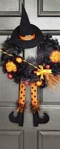 Halloween Witch Wreaths from Tuesday Morning $19.99