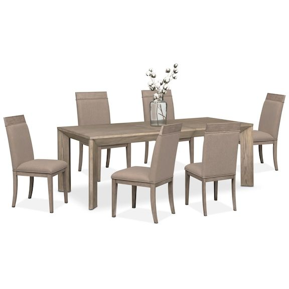 The Gavin Dining Collection Graystone Value City Furniture And Mattresses Dining Room Furniture Modern Dining Room Sets Formal Dining Room Sets #value #city #living #room #tables