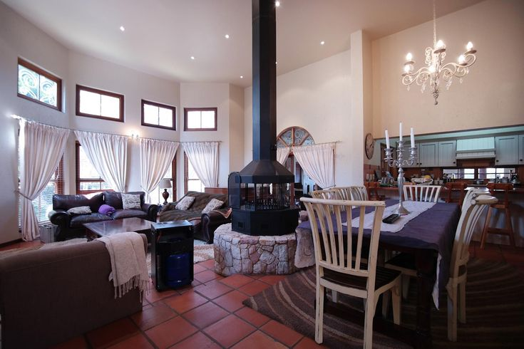 Stunning living room in exclusive property on MyRoof.co.za