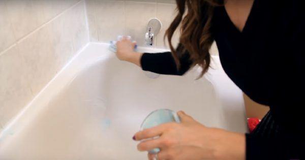 čistící prostředek koupelna
