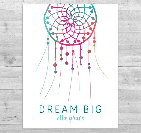 Boho Baby Shower Thumbprint Guest Book Baby by WLAZdesignSHOP