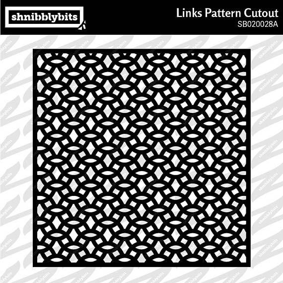 Links Pattern Cutout