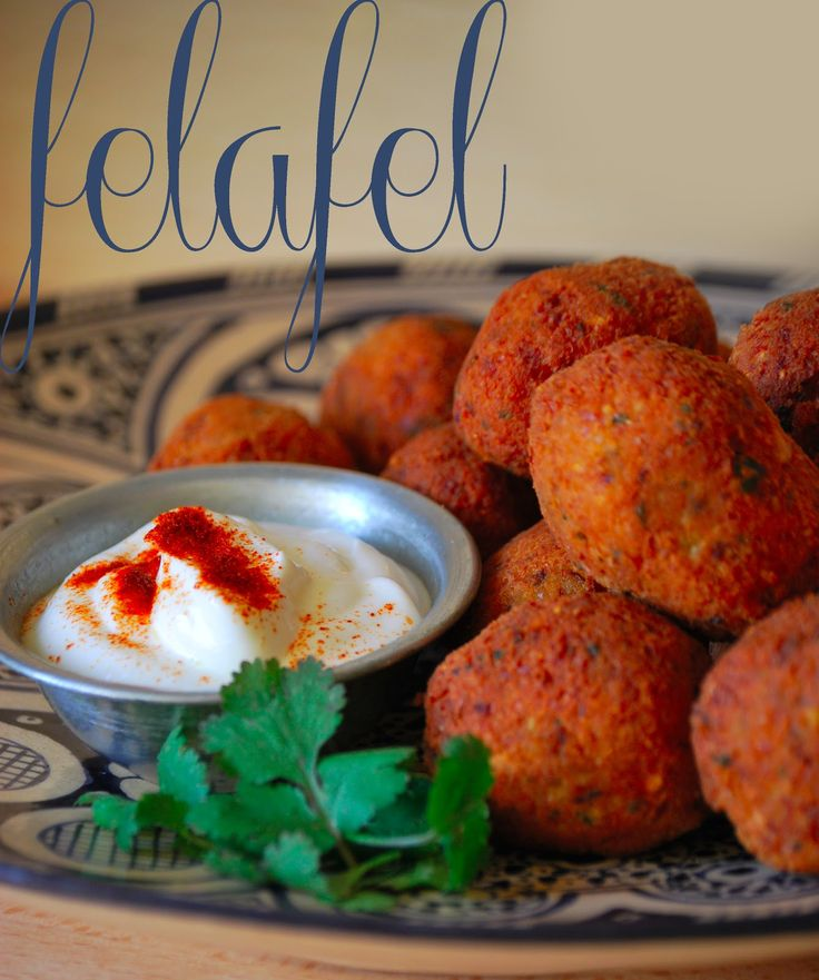 Felafel ...ricetta rubata - con Salsa allo Yogurt-