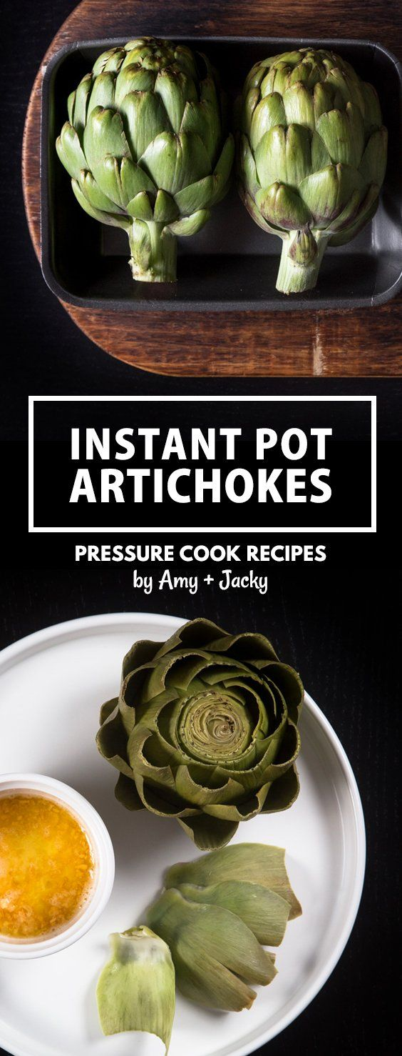 Instant Pot Artichokes Recipe (Pressure Cooker Artichokes): Make this foolproof recipe in 20 mins! Superfood nutrient powerhouse with delicious delicate flavors. via @pressurecookrec