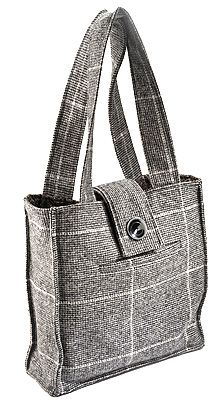 recycled coat totes! Not a tutorial but lots of ideas
