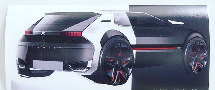 """#205GTI, #205GTiConcept35ThAnniversary, #ADN, #AutomotiveDesignNetwork, #ClubGTIPowers, #GillesVidal, #Peugeot Peugeot 205 GTI : un concept-car """"205 GTI 35th Anniversary Concept"""" en 2019 ? https://lesvoitures.fr/205-gti-concept-35th-anniversary/"""