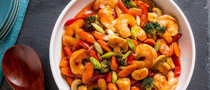 Sweet & Sour Shrimp Recipe   Campbell's Kitchen