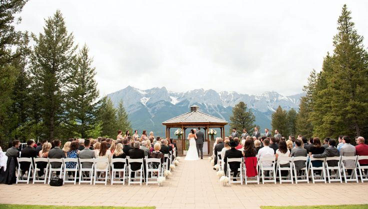 A Purple & Ivory Wedding at Silvertip Resort | Canmore Wedding
