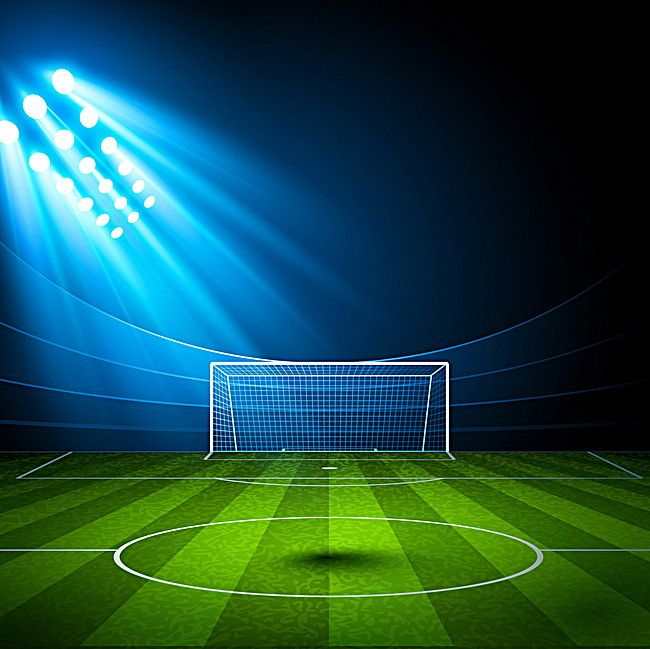Green Football Field Spotlight Background Football Field Soccer Backgrounds Football Background
