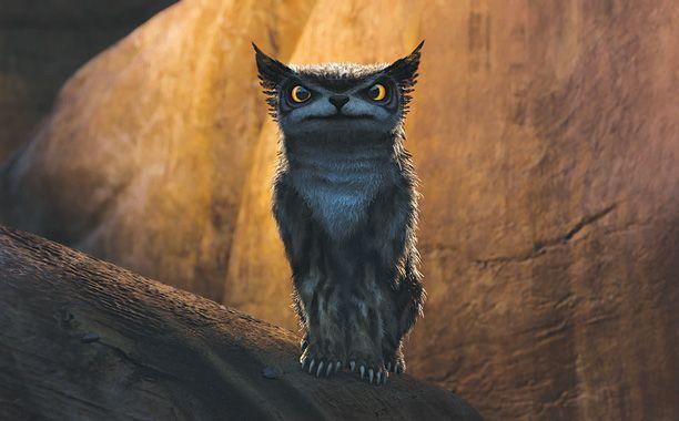 Bear Owl #Croods | The Croods | Pinterest