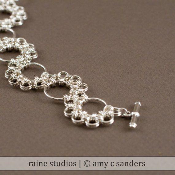 Shenandoah Chainmaille Bracelet fait main en par rainestudios