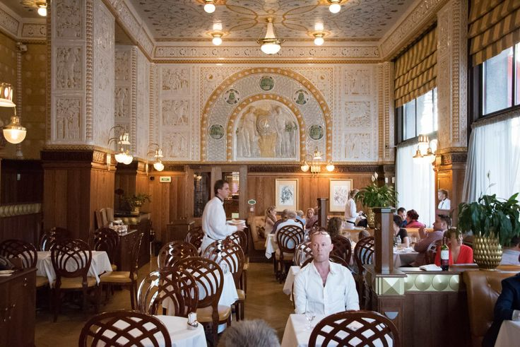 RESTAURANT PROFILE Cafe Imperial Prague : The Czech Culinary Renaissance - #foodie #foodporn #travel - More images on this post on C&C click here! -> http://ift.tt/1RGUdcI