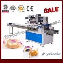 Automatic Horizontal flow packing machine for layer cake
