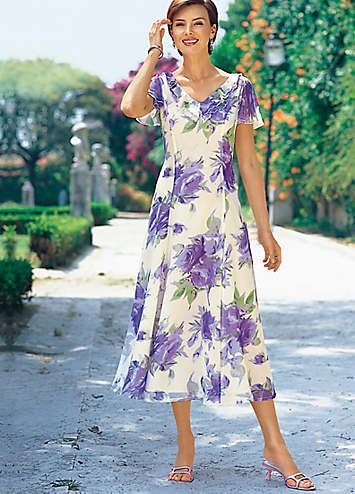 Long Floral Occasion Dress | Dresses | Womens | Witt