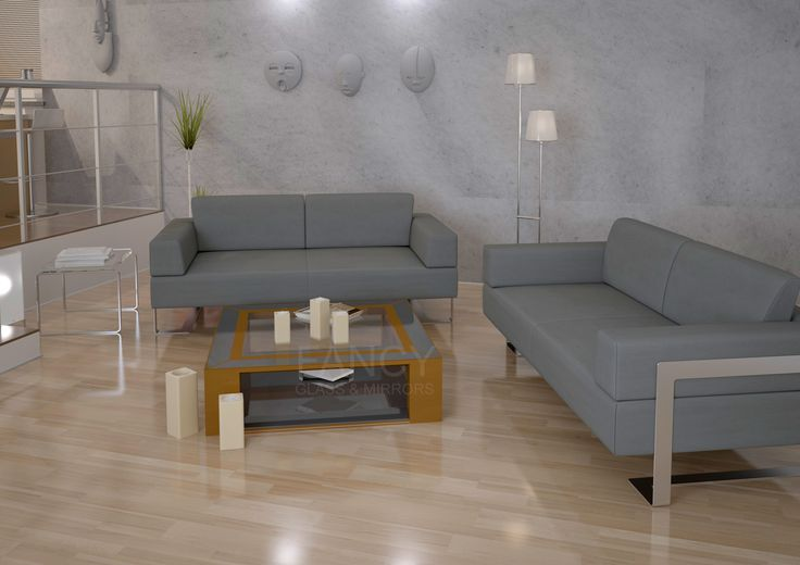 ANDROMEDA MIRRORED COFFEE TABLE is the right choice for those who want to get a great looking piece of furniture along with comfort and style. With its surface mirrored with antique mirror, you won't be able to take your eyes of it. The bottom part is shelf-like so you can keep your things there. Or use it as a displaying space.