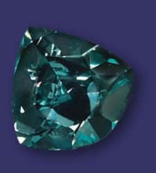 The Ocean Dream is the only natural diamond known to the Gemological Institute of America to possess a blue-green hue, making it one of the rarest diamonds in the world.