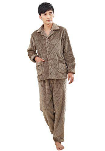 Winter Men Flannel Pajamas Suits Tracksuit (L, Light Khaki) Jemis http://www.amazon.com/dp/B014SV5EPW/ref=cm_sw_r_pi_dp_LU75vb1R8VYZ3