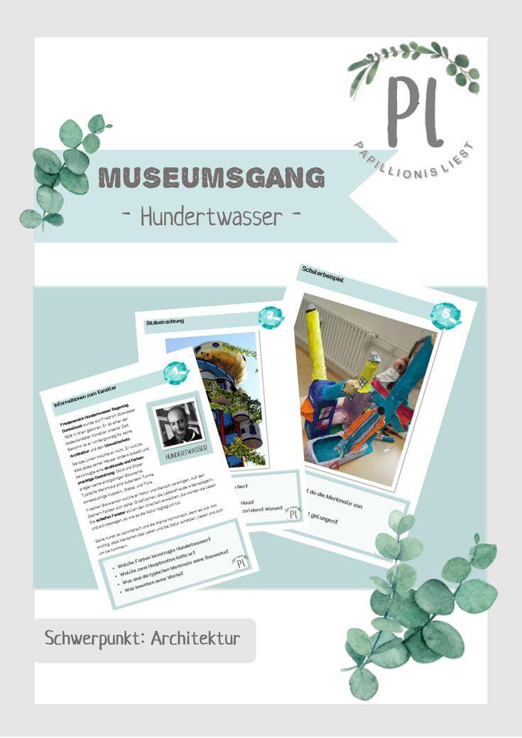 Kunst Museumsgang Zu Friedensreich Hundertwasser Unterrichtsmaterial In Den Fachern Ethik Kunst Kunstunterricht Kunstunterricht Grundschule Hundertwasser