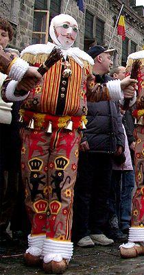 Belgique Le Carnaval Gastronomie, recettes de cuisine et traditions en Europe. Information et Tourisme Européen.