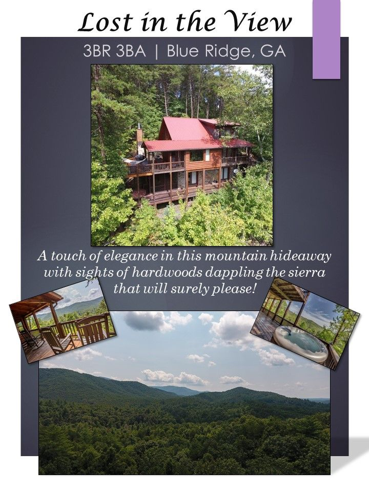 Catch The View Located On 1 5 Private Acres You Re Surrounded By Wilderness With A Beaut Georgia Mountain