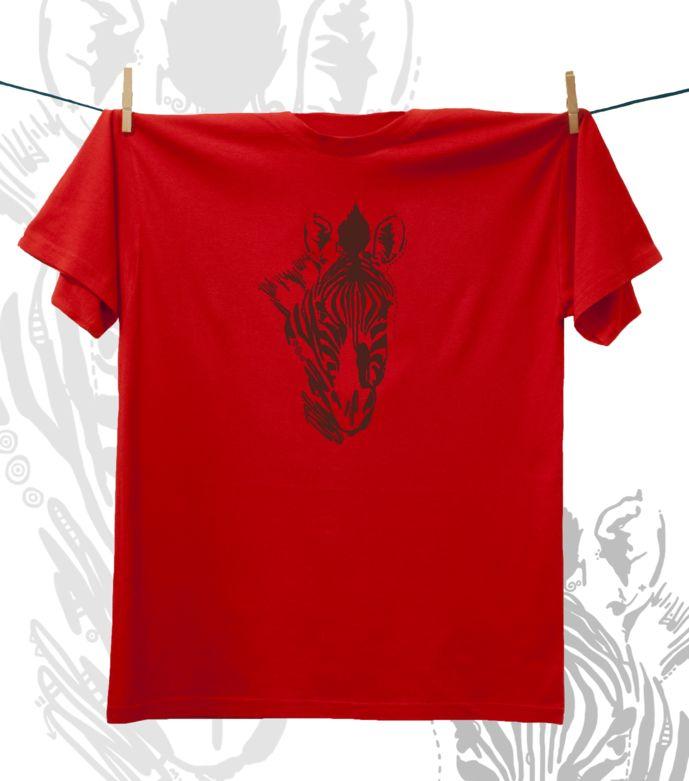 Camiseta ·MXH· Cebra