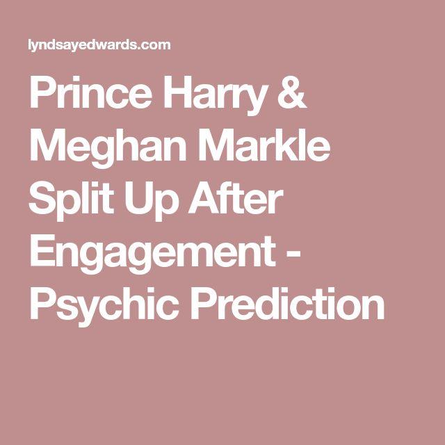 Prince Harry & Meghan Markle Split Up After Engagement - Psychic Prediction