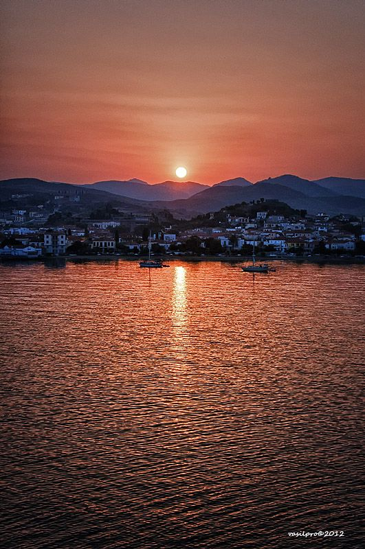 New day in Myrina - Lemnos Island, Lesvos