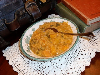 Coconut Red Lentil Soup | Vintage Cookery | Pinterest | Red Lentil ...