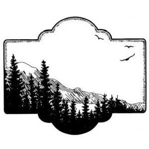 Creative Expressions Stamps to Die For Scenic View