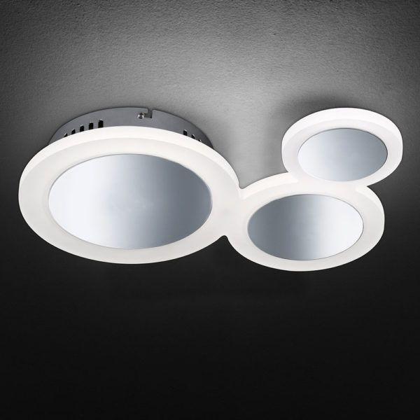 Interessante Led Deckenleuchte Im Kreis Design Mit Einer Lange Von 39 Cm Led Deckenleuchte Led Led Leuchten