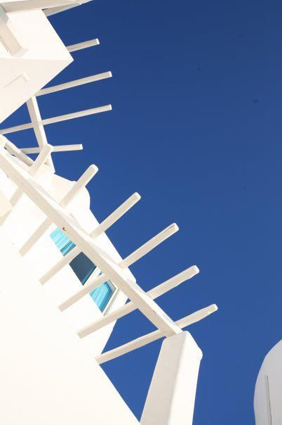 Two most Greek colors: white and blue!!! @ Rocabella deluxe suites & spa Santorini