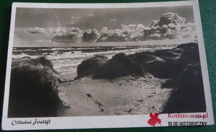 Ostseebad Jershöft Pocztówka wysłana z Jarosławca 29 stycznia 1939 roku Wydawnictwo: Photo u. Werlag w. Dichas, Stolp, Hitlerstrase 8