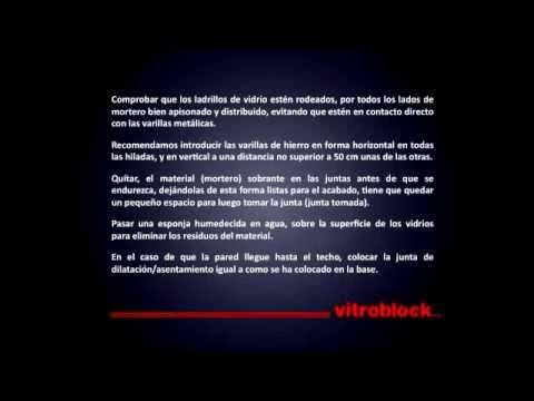 Vitroblock ideas una colecci n de ideas sobre otros que - Colocacion de bloques de vidrio ...