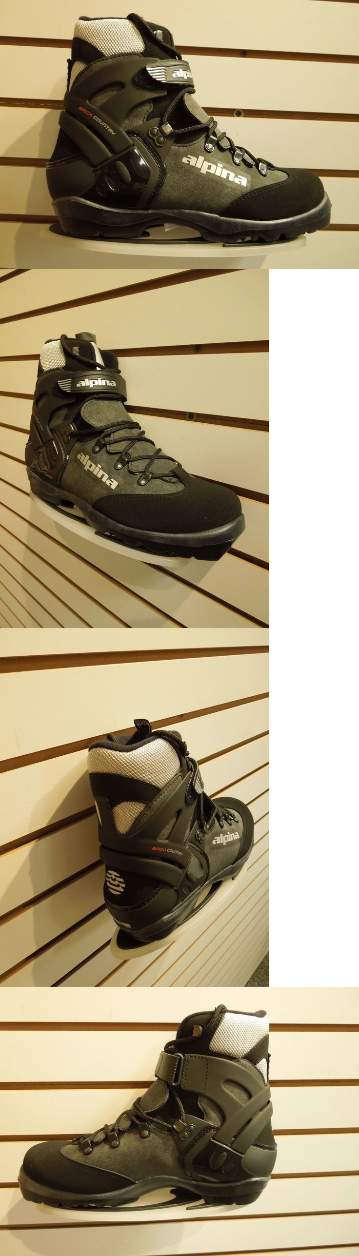 Boots 36266: Alpina Bc 1550 Cross Country Ski Boot Nnn Bc Size 41 New! -> BUY IT NOW ONLY: $99 on eBay!