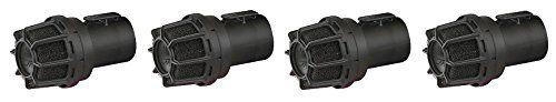 WORKSHOP Wet Dry Vacuum Muffler Diffuser WS25025A 2-1/2-Inch Muffler/Diffuser Shop Vacuum attachment For Shop Vacuums (4-(Pack))