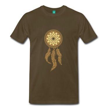 Dreamcatcher, Native Indians, protection Magliette