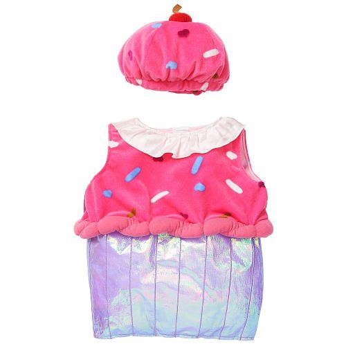 "Koala Kids Girls' 2 Piece Pink/Purple Cupcake Halloween Costume with Hat - Babies R Us - Toys ""R"" Us"