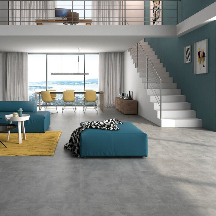 Grey Floor Tiles Living Room This Is A Ceramic Or Porcelain Tile