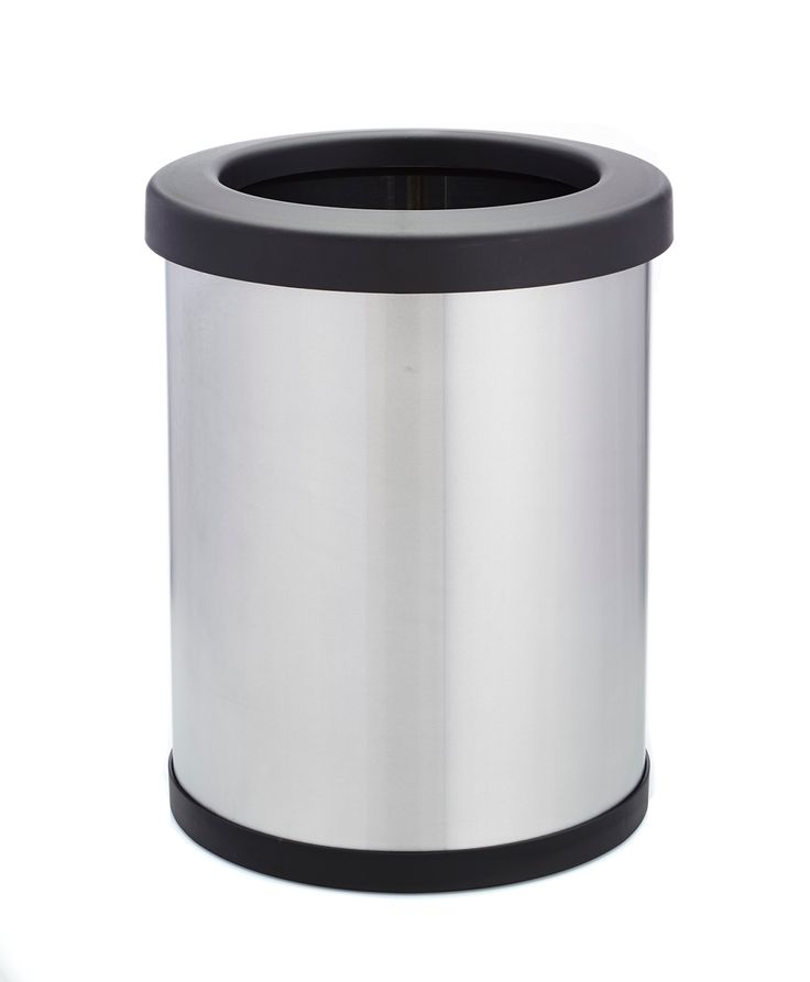 Shop-Can 6 Gallon 11 inch Diameter Stainless Steel Trash Can - Shop-Vac Store