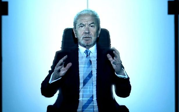 Lord Alan Sugar explores Virtual worlds including his very own board room!