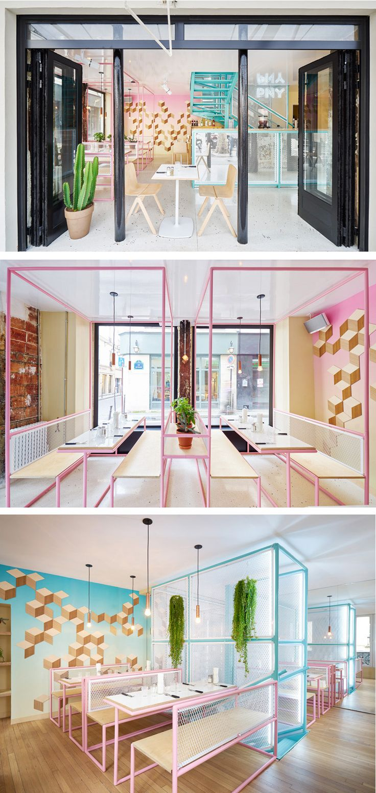 CUT architectures have designed a new location of PNY, a hamburger restaurant in the Marais neighbourhood of Paris, France.