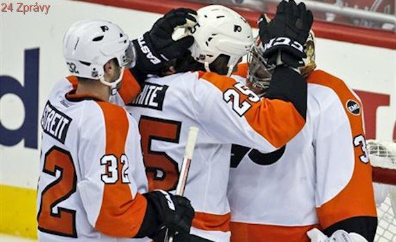 Gudas, Voráček a Neuvirth pomohli Flyers přerušit sérii porážek